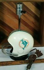 Pro Sports Marketing Miami Dolphins Football Helmet Lamp Made in USA 1973 Works