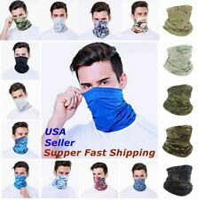 Bandana Face Mask Cover Scarf Balaclava Reusable Washable Breathable Neck Gaiter