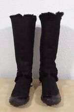 Nike Lab G Series women's suede two-way winter boots black size 9B