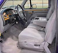 1993 94 95 96 97 1998 Ford F150 250 350 450 F550 Front 40/20/40 Seat Covers TAN