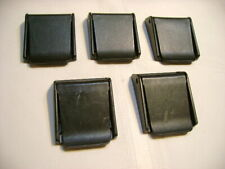 5 Ea Black Plasic Divers Weight Belt Buckles Lot ( 3 New And 2 Used)