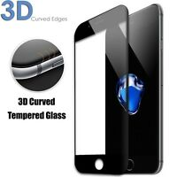3D Curved Edges Full Cover 9H Tempered Glass Screen Protector for iPhone 6/6S