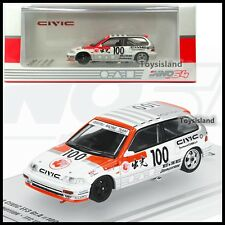 INNO64 1/64 HONDA CIVIC EF3 GR.A #100 IDEMITSU MOTION JTC 1989 DIECAST CAR TINY