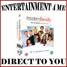 MODERN FAMILY  - COMPLETE SERIES SEASONS 1 2 3 4 & 5 **BRAND NEW DVD BOXSET **