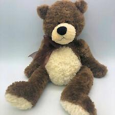 "Brown and White Soft Teddy Bear Plush Stuffed 18"""
