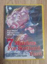 7 MURDERS FOR SCOTLAND YARD-GIALLO-PAUL NASCHY-GREAT SPANISH GIALLO 1972 DVD-R.