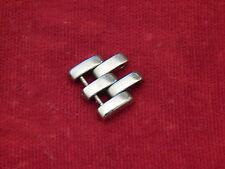 CARTIER SOLID STEEL SANTOS COUGAR PANTHERE BAND BRACELET LINK 12MM 12 MM