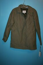 NEW Goodfellow & CO Insulated Mac Coat Stone Removable Liner Sz Small OR $79.99