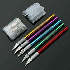 Non-slip Blade Knife Craft Knives Hobby Exacto Knife + 6 Blades For Craftsman