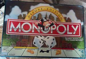 Monopoly Luxus Edition Immobilienhandel Spiel Von Parker Brothers 1998 Geöffnet