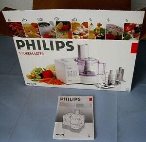 Küchenmaschine Philips Storemaster HR 2880 NEU OVP mit Schneidscheiben