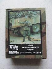 Verlinden Productions 1079 German PK Photographer WW2 in 1:35 scale