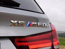 NEW  BMW European Model X5 M 5.0d M 50d Lettering Rear Trunk Emblem Badge F15 X5