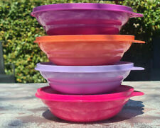 Tupperware 4x Frische-Drops-Set Schüsseln Vorrats-Behälter Dosen 4 x 550 ml Neu