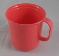 Tupperware Picknicktasse Tasse Trinktasse 330 ml Lachs Lachsrot Rot Neu OVP