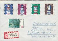 Germany 1973 Registered Hannover Cancels Chess Pieces Stamps Cover Ref 25762
