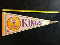 Vintage NHL Los Angeles Kings The Forum Pennant