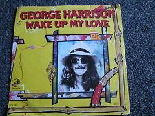 George Harrison-Wake up my Love 7 PS-Germany-1982-Rock-Ex The Beatles-45 U/min