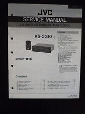 Original Service Manual  JVC KS-CG10