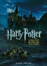 New & Sealed! Harry Potter Complete 8 Film Collection DVD Box Set