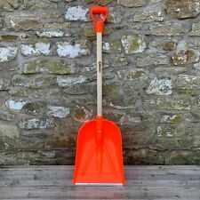 Kwazar Heavy Duty Poly PYD Grain Shovel - Snow, Plastic, Mucking Out, Stable