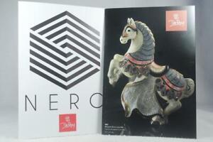 De Rosa Rinconada Set Of 2 Pamphlets-Nero/Vase & Family/Confetti Collections NEW