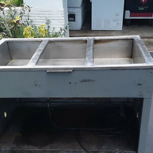 3 Compartment steam Table