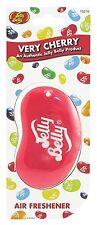 4x Jelly Belly 15210 3d Jelly Bean Air Freshener - Very Cherry NEW MULTIBUY