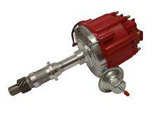 Pontiac HEI Distributor 50,000V 50K Coil  & Adjustable Vaccum Advance ,Red Cap