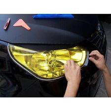 12x47inch Car Auto Headlight Tint Fog Light Tinting Vinyl Film Cover Wrap Yellow