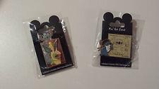 2 Pins Disneyland Paris Disney Pin Art Event Lilo & Stitch Trading  NEU