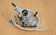Carburettor W Cable Fit Honda Twinstar 200 CM185T CL200T CM200T Carb Cable Choke