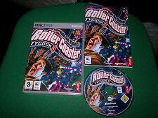 Roller Coaster Rollercoaster Tycoon 3 Apple Mac/DVD (Gioco di simulazione & COMPLETA
