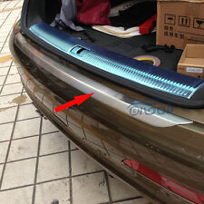 For Audi Q3 2012 2013 2014 2015 Stainless Rear Bumper Sill plate cover Trims