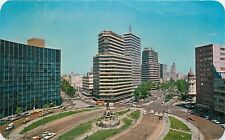 Columbus Circle Paseo de la Reforma Mexico City Mexico aerial view Postcard