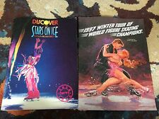 Vintage 90s Ice Skating Programs Lot of 2 Stars On Ice 90-91 Tour 1997 Tour