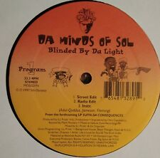 "Da Minds of Sol - Blinded By Da Light ORIGINAL 12"" random rap henchmen ron b"