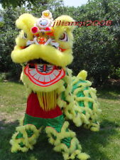 NEW 100% Natural Wool Supreme Chinese Lion Dance Costumes Complete Set 009