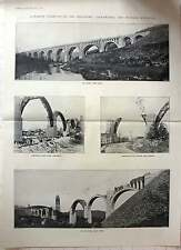 1916 Concrete Viaducts Delaware Lackawanna Railroad Construction Photos