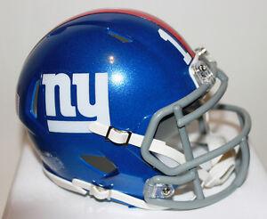 Eli Manning New New York Giants Speed Riddell Custom Mini Helmet