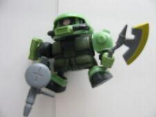 "GUNDAM SD ZAKO SOLDIER - 4""  INCLUDING WEAPONS W/BONUS MINI GUNDAM"