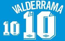 Valderrama 10 Miami Fusion MLS America Home Football Nameset for Shirt