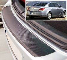 Vauxhall / Opel Insignia Hatchback - Carbon Style rear Bumper Protector