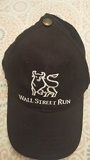 Wall Street Bull Run Merrill Lynch Black Golf Hat Cap Baseball International