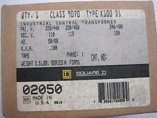 NEW SQUARE D 9007-K100-D1  TRANSFORMER