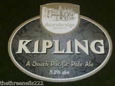 BEER PUMP CLIP - THORNBRIDGE KIPLING SOUTH PACIFIC PALE ALE