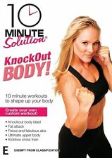 10 Minute Solution: Knockout Body Workout - Jessica Smith NEW R4 DVD