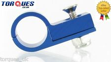"""AN -6 (AN6 AN06) Blue 9/16"""" O.D Fuel Hose Clamp P Clip"""