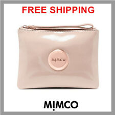 Mimco Lovely Patent Leather Pancake Pouch Wristlet Medium Bag Authentic & New DF