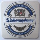 Weihenstephaner Premium Bavaricum Brewery Cardboard Coaster, Oldest Brewery 1040